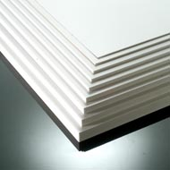 1mm Foamalux White Foam PVC Sheet