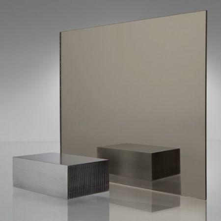 3mm Plaskolite Bronze 1600 Mirror Acrylic Sheet Mirror