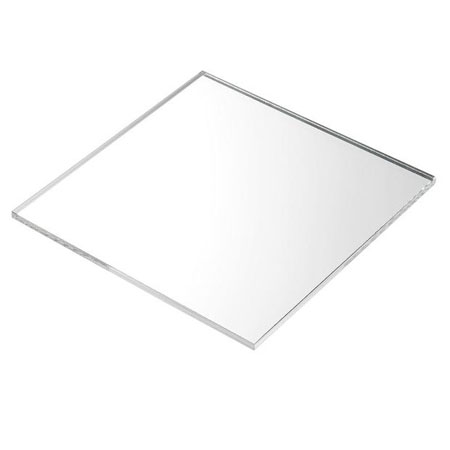 3mm Plaskolite Silver Mirror Acrylic Sheet