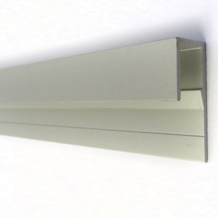 glass mirror j channel top fixing glass mirror sheet