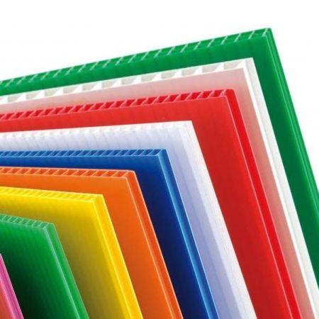 4mm Correx Coloured Fluted Polypropylene Sheet | Correx Sheet ...